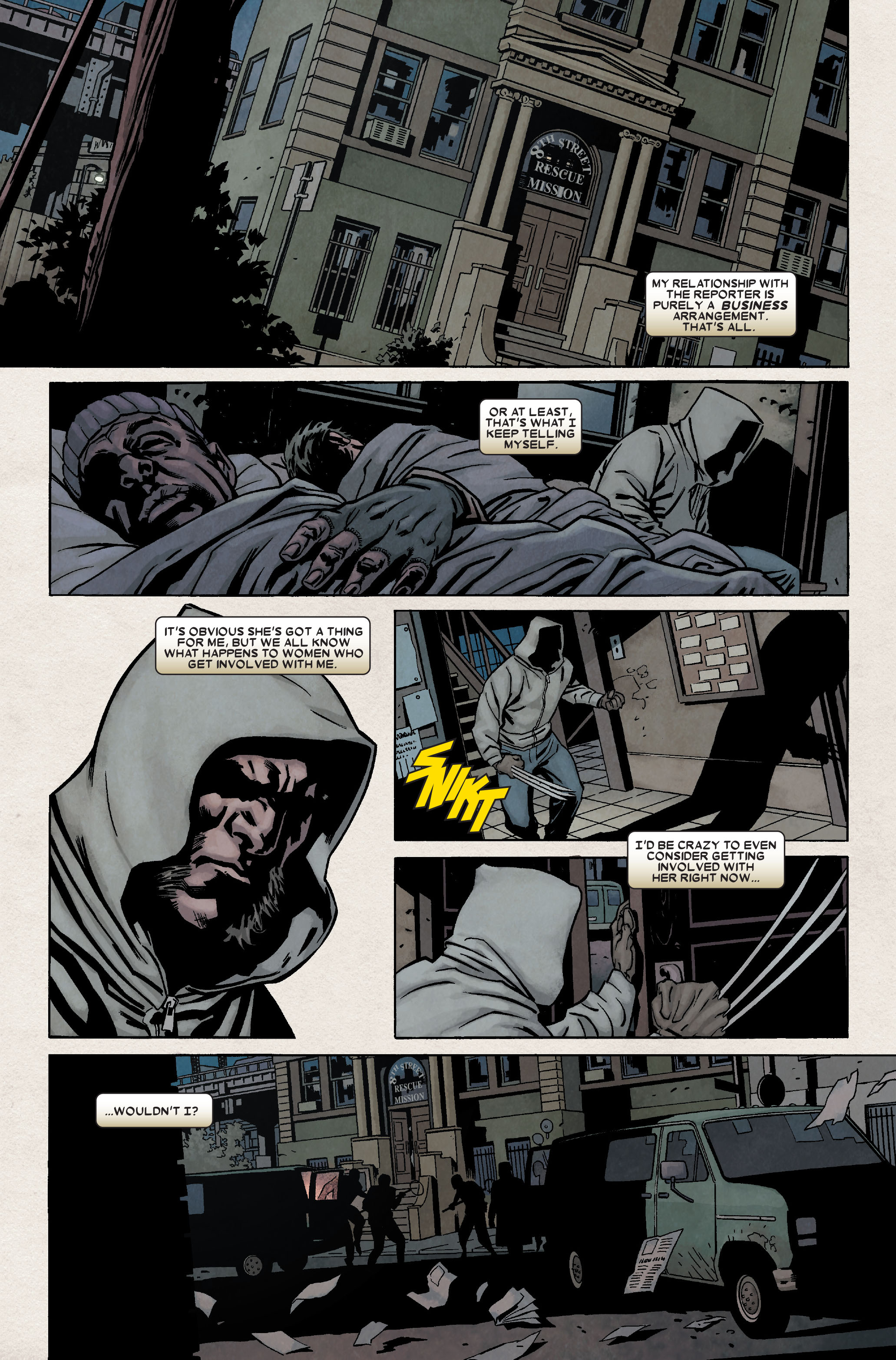 Read online Wolverine: Weapon X comic -  Issue #8 - 11