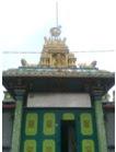 Pintu Masuk Kuil Shri Mariaman Kampong Madras Medan