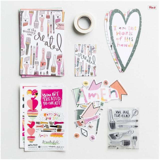 Illustrated Faith - Created 2 Create Devotional Kit