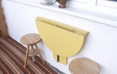 Складной столик на кухню своими руками
