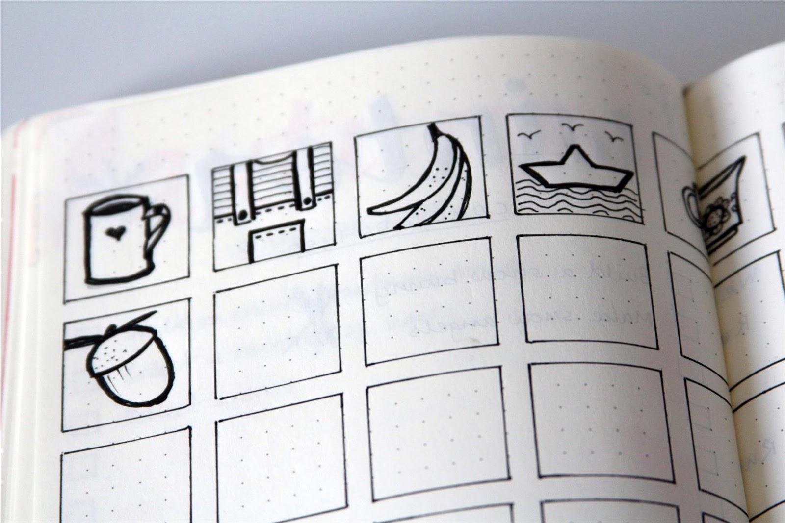 Emuse Bullet Journal Ideas Doodles