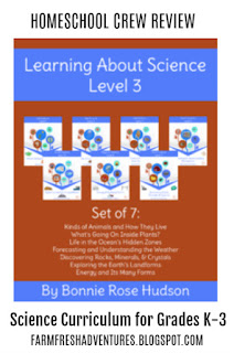 WriteBonnieRose~ Learning About Science Collection, Level 3 {Product Review}