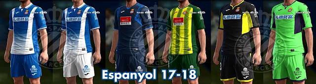 Espanyol 2017-18 Kit PES 2013