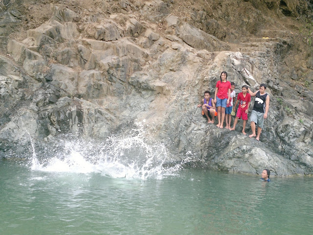 Diving at canding river