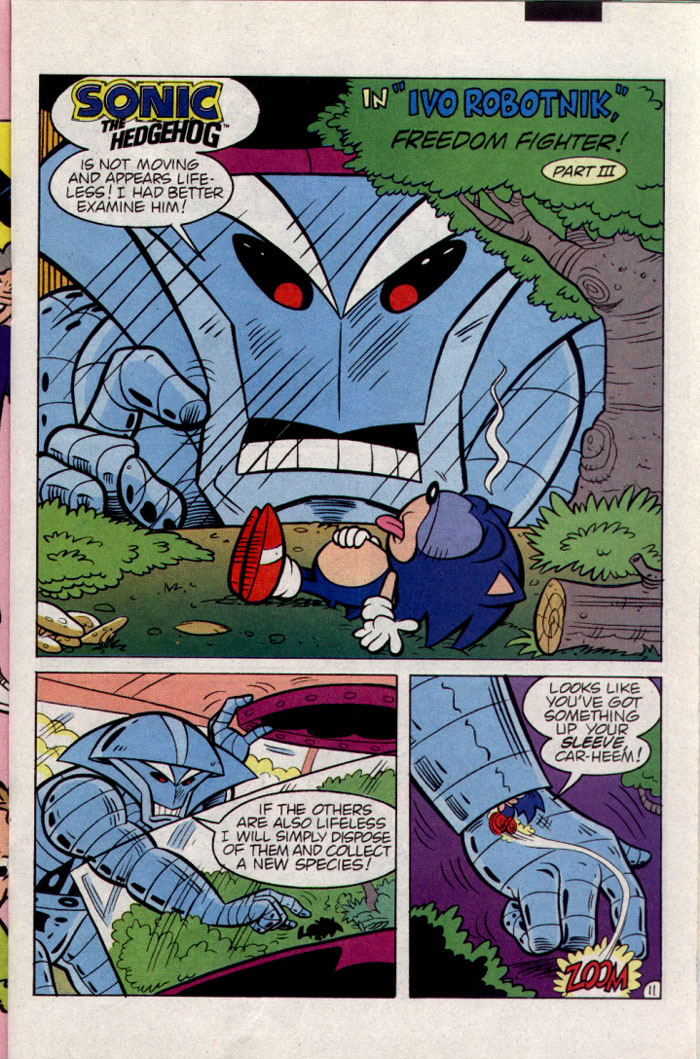 Read online Sonic The Hedgehog comic -  Issue #23 - 12
