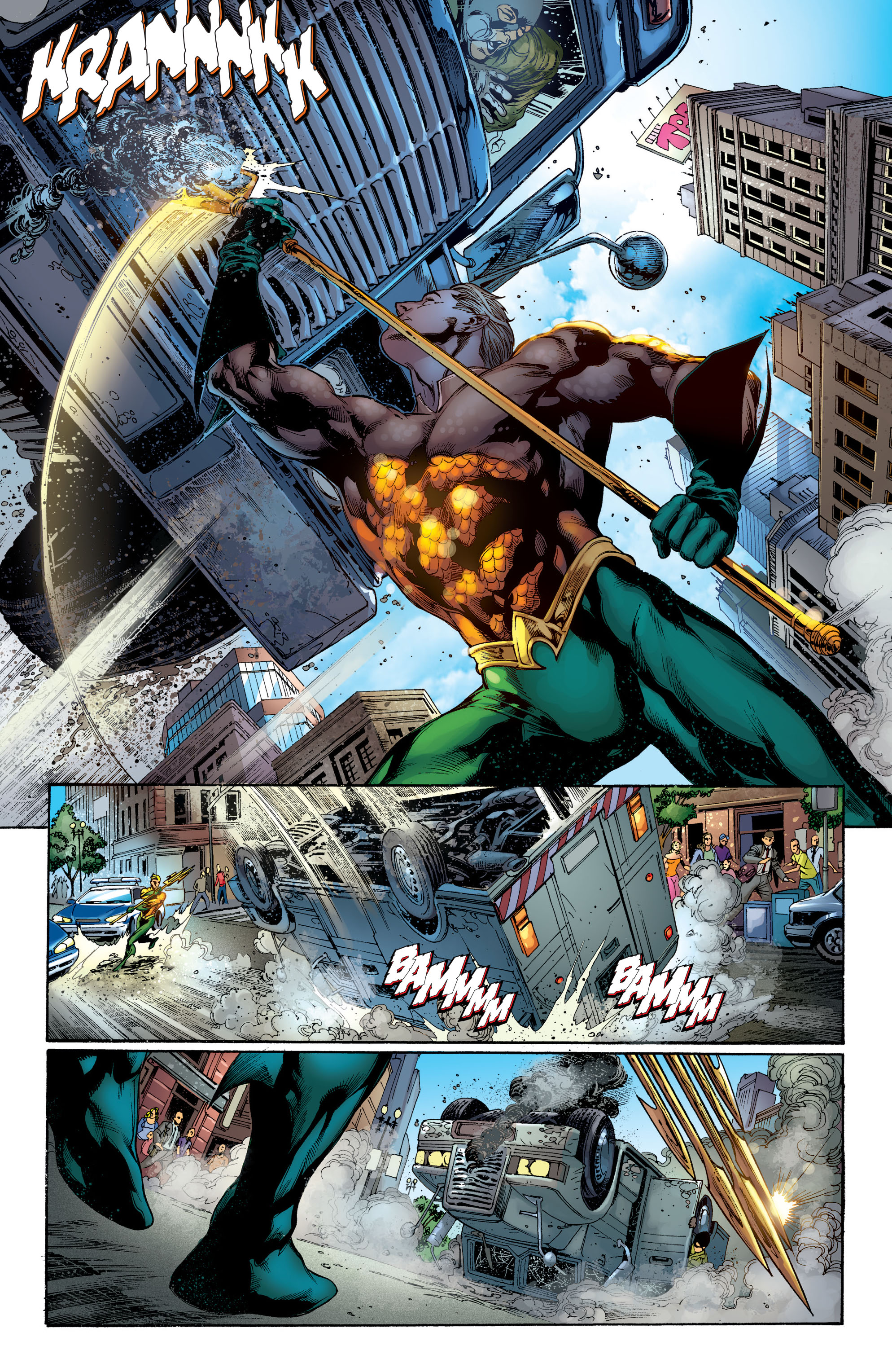 Read online Aquaman (2011) comic -  Issue #1 - 8