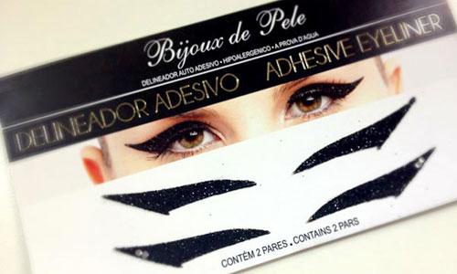 Pegatinas de maquillaje delineado adhesivo