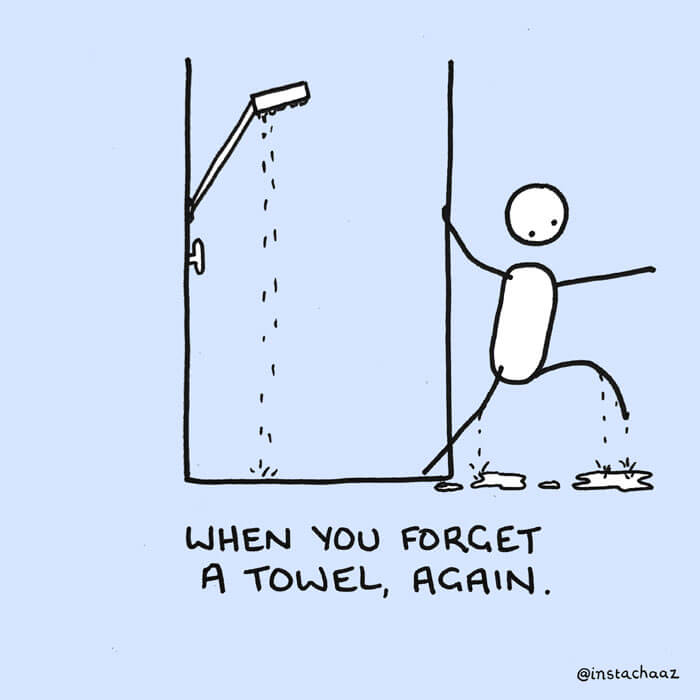 10 Hilarious Comics Of Shower Moments We All Related To
