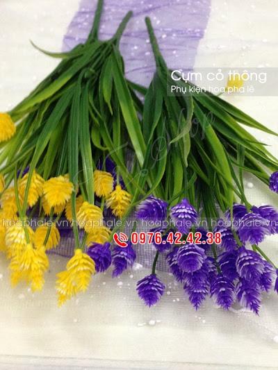 Phu kien hoa pha le tai Tay Ho