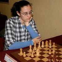 La ajedrecista Amalia Aranaz