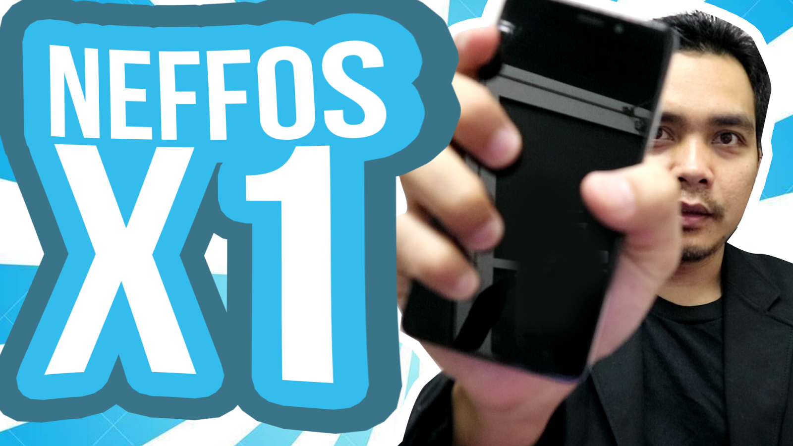 Review Neffos X1, Padu, Solid 1