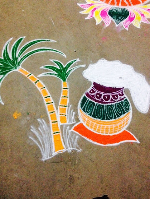Rangoli Designs for Pongal 31