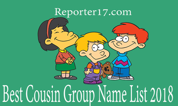 Cool whatsapp group name list 2018 - Reporter17