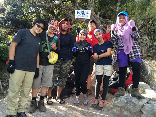 friends, team pendaki, gunung lawu