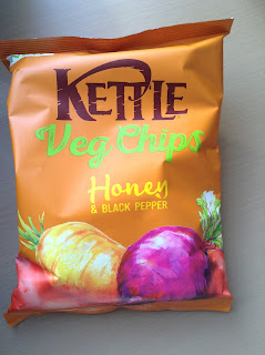 kettle veg chips honey and black pepper