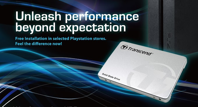 Transcend Powers Up Your PS4 Experience With Transcend SSD220S