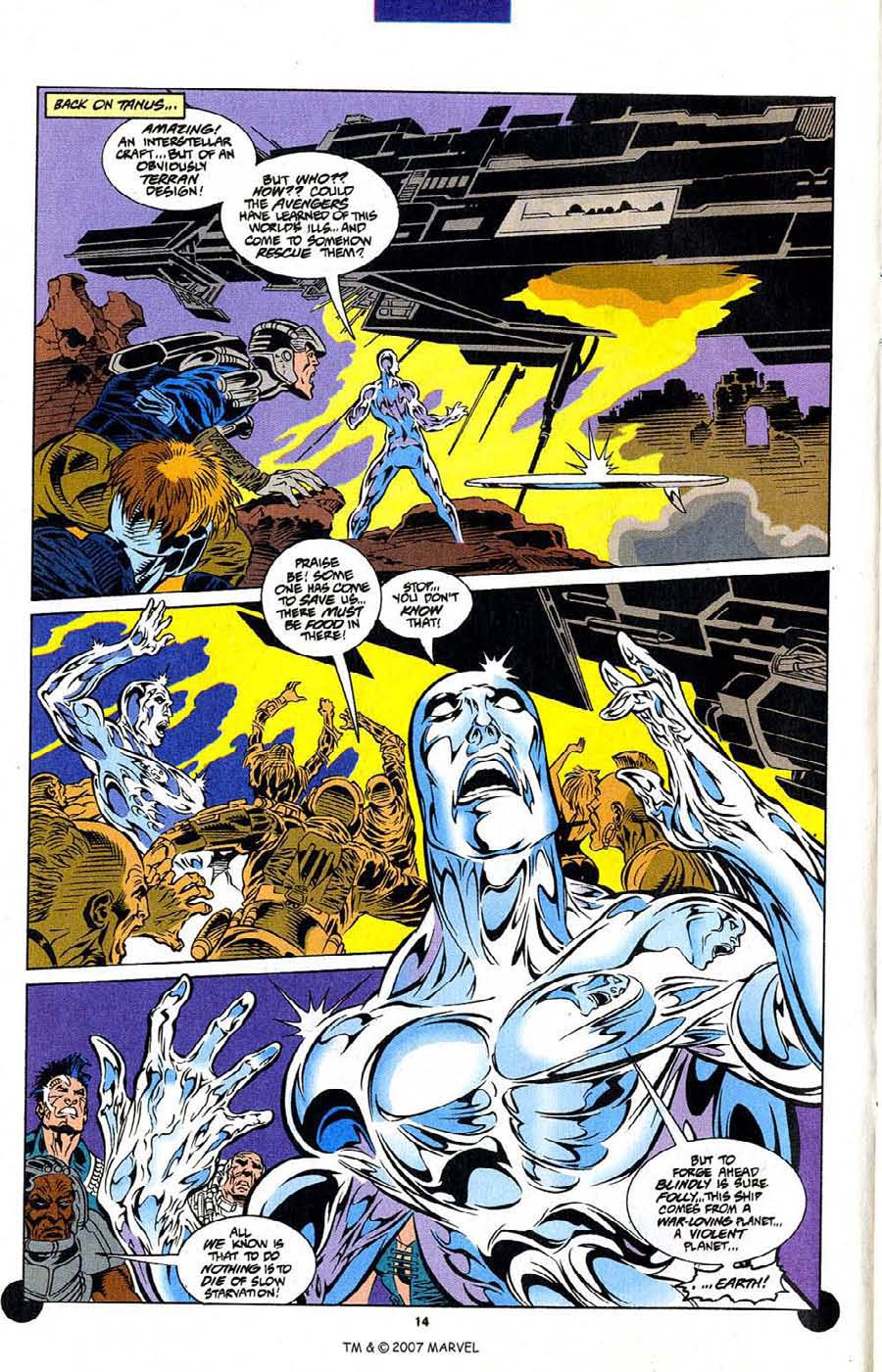 Read online Silver Surfer (1987) comic -  Issue #106 - 16