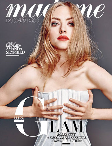 amanda seyfried hot madame figaro magazine cover