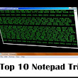 Top 10 most amazing Notepad tricks,hacks and commands that will work on your PC ~ Knighthub -  The Technology Hub