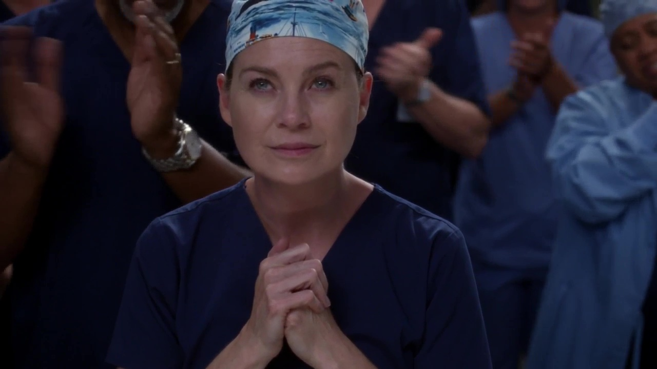 Meredith Grey en el episodio 300 de Grey's Anatomy