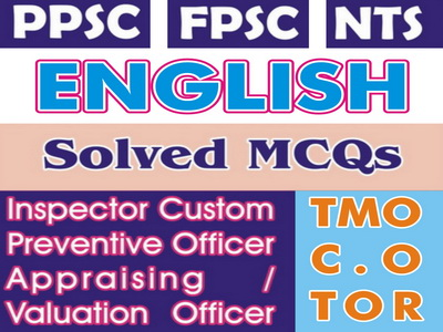 PPSC Lecturers English Test Books Solved MCQs Download