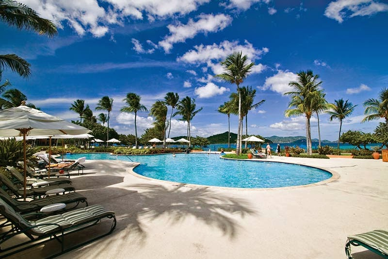 villa in St. Thomas, Ritz-Carlton Club  Residence via Luxury Retreats.