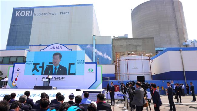 South Korean President Moon Jae-in ready 'to stop building new nuclear reactors'