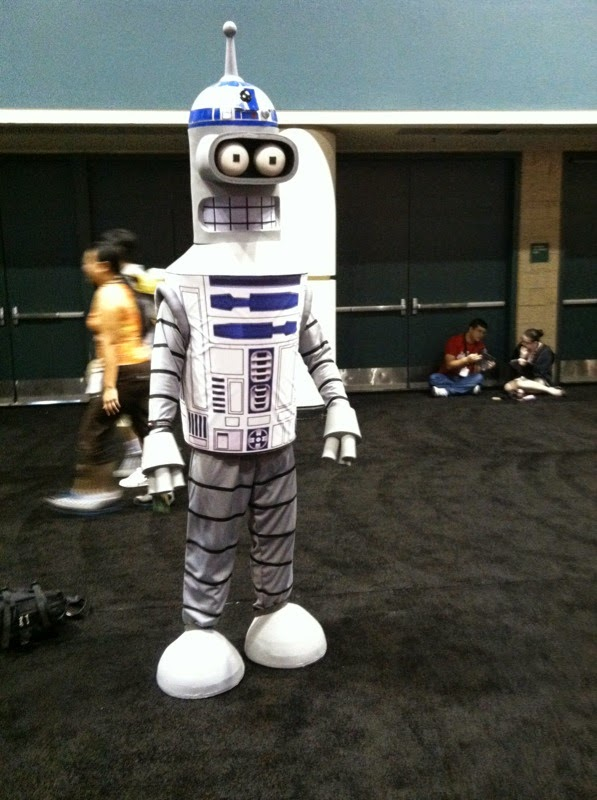 bender star wars mash up cosplay