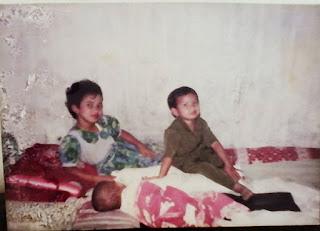 Fenny Ferawati di masa kecil