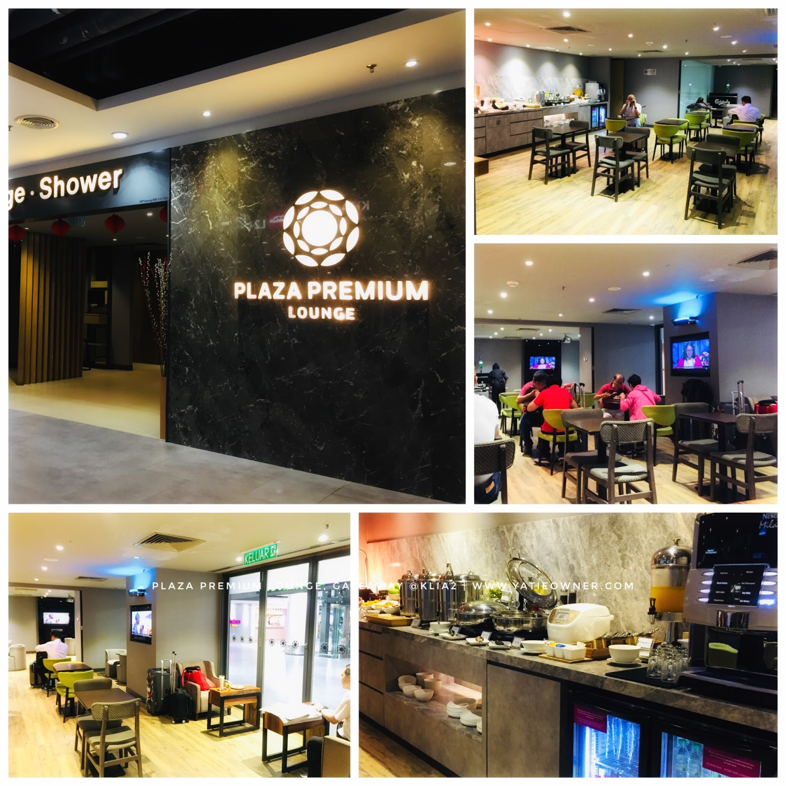 Plaza Premium Lounge Gateaway @Klia2 Must Try!