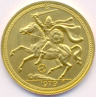 ISLE OF MAN 2 Pounds GOLD COIN