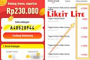 APK Likeit Lite Penghasil Uang Legit Terbukti Membayar 2021