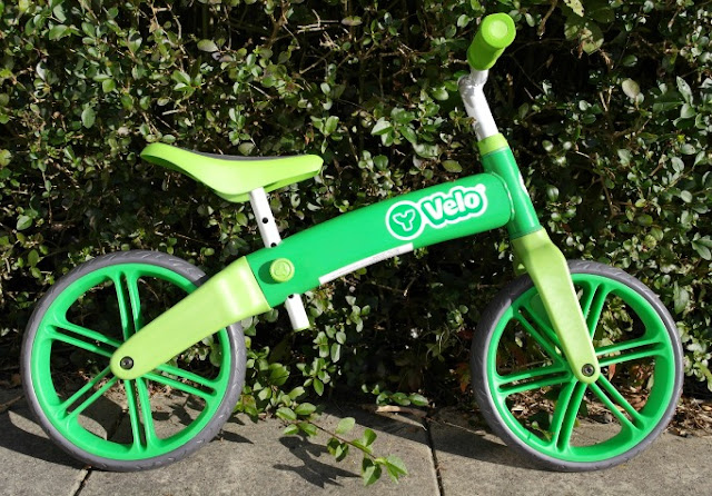 YVolution Velo Green Balance Bike Assembled