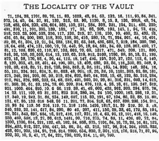 The Lost Treasure of the Beale Ciphers