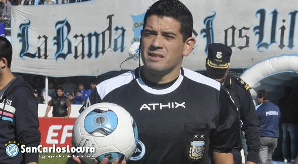 Ariel Suárez será el juez ante Los Andes
