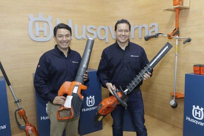 Husqvarna lanza al mercado peruano la primera línea de productos a batería para el sector agroindustrial