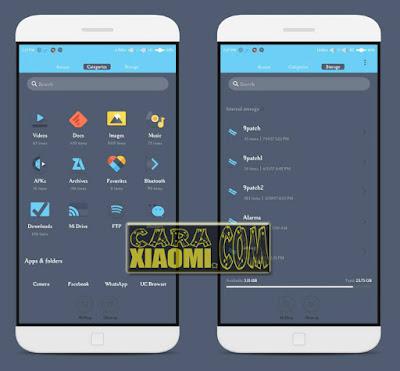 Screenshoot Tema MIUI Fab Fab Blue Mtz Themes by Anto Randeam