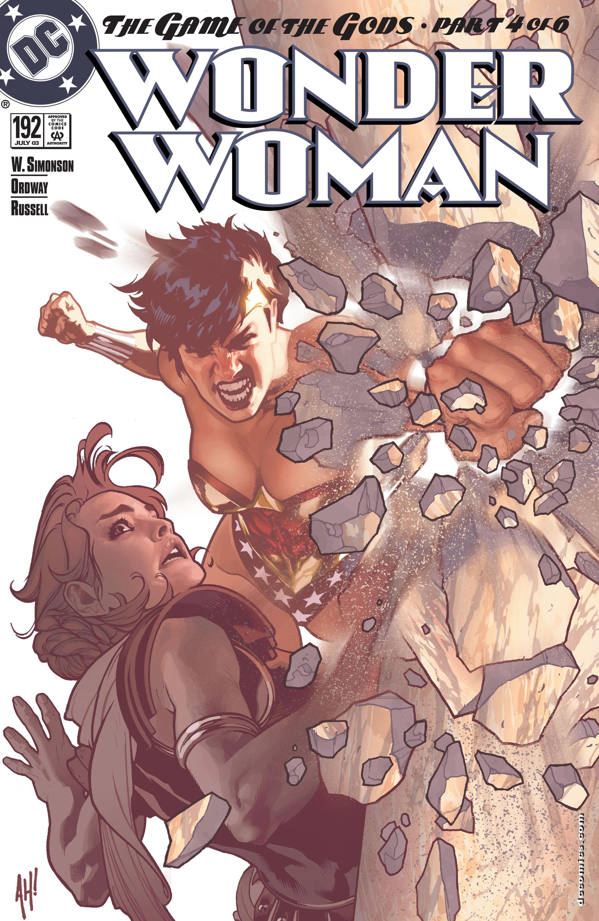 Read online Wonder Woman (1987) comic -  Issue #192 - 1