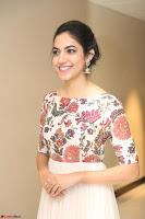 Ritu Varma smiling face Cream Anarkali dress at launch of OPPO New Selfie Camera F3 ~  Exclusive 094.JPG