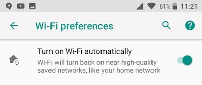 Auto Enable Wi-Fi
