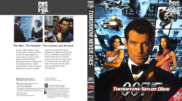 Tomorrow Never Dies Bluray Cover
