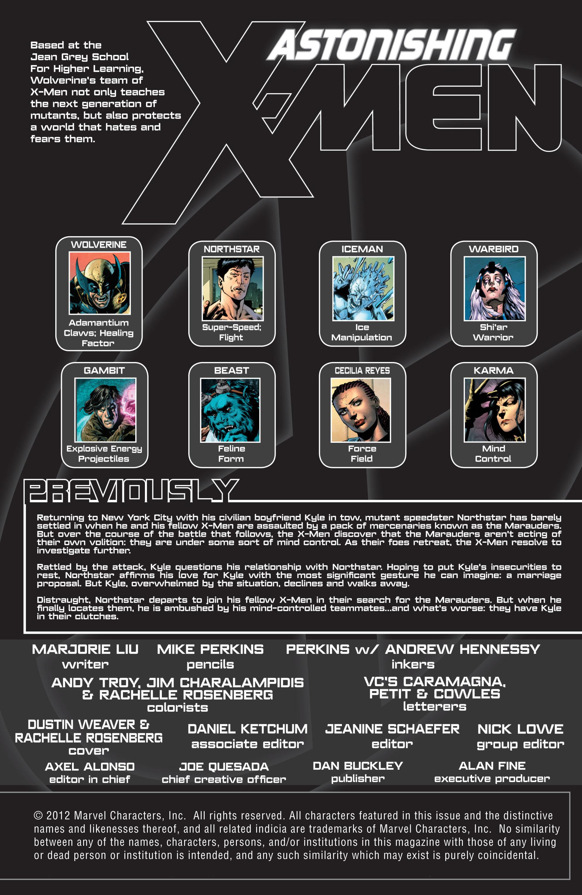 Read online Astonishing X-Men (2004) comic -  Issue #51 - 3