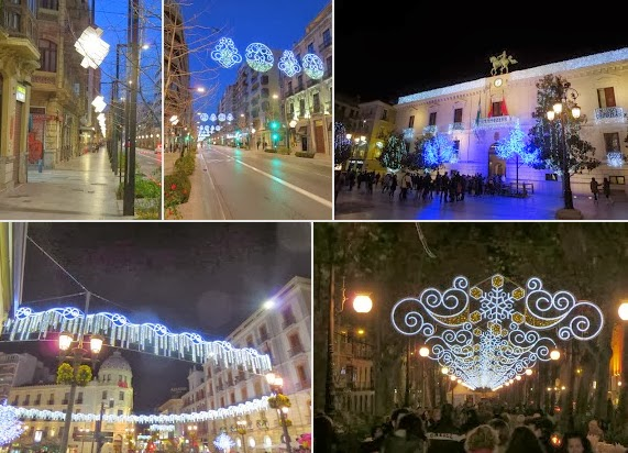 Christmas in Granada - Holiday Lights