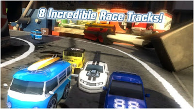 Table Top Racing Mod Apk