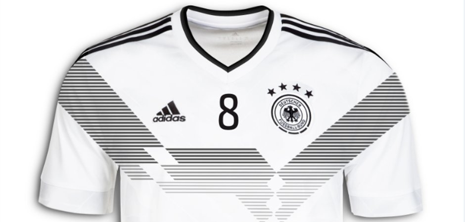 5afd0a4f4 Primeiras informações sobre a camisa da seleção alemã para Copa de ...