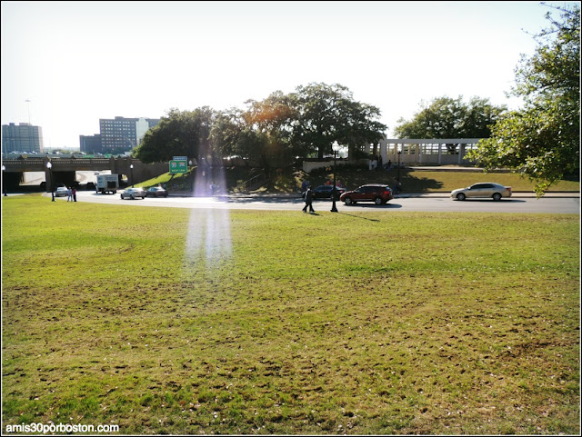 Grassy Knoll en Dallas