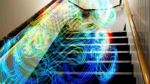 「ここwifi飛んでなー」wifiを可視化した写真が美しい。5枚