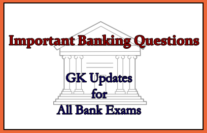Banking GK Questions