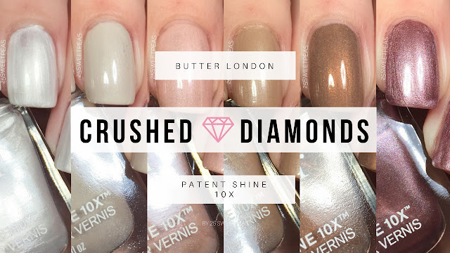 Butter London Crushed Diamonds Collection