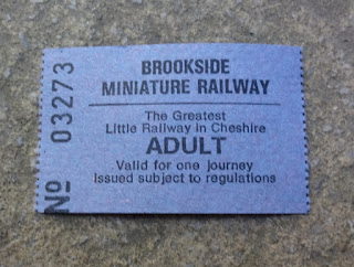 Brookside Miniature Railway in Poynton, Stockport